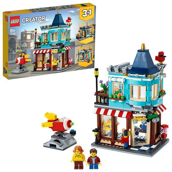 Конструктор LEGO Creator (арт. 31105) «Городской магазин игрушек»