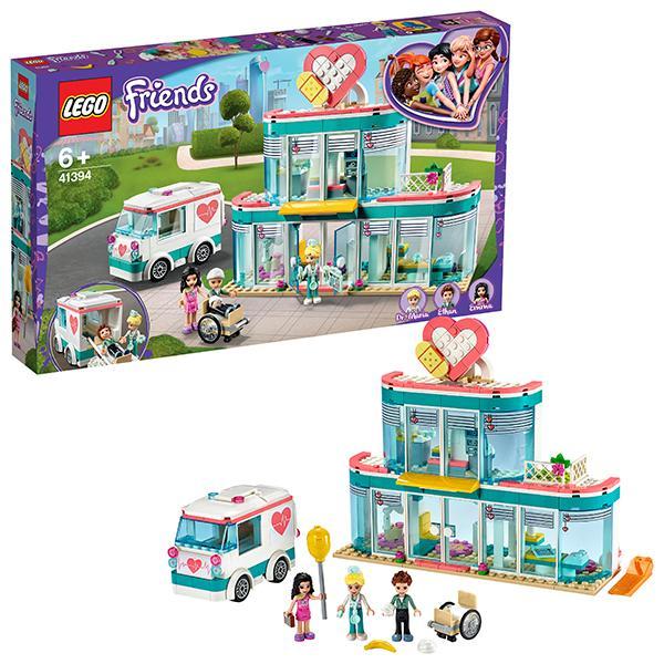 Конструктор LEGO Friends (арт. 41394) «Городская больница Хартлейк»