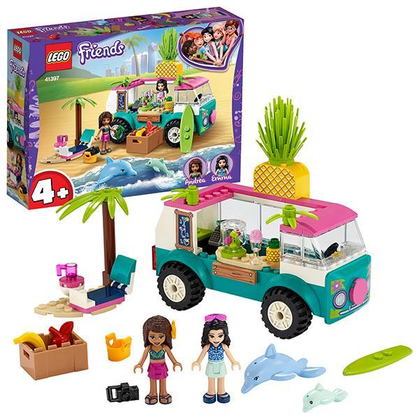 Конструктор LEGO Friends (арт. 41397) «Фургон-бар для приготовления сока»