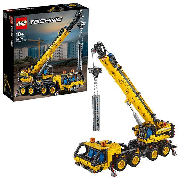 Конструктор LEGO Technic (арт. 42108) «Мобильный кран»