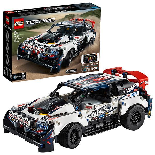 Конструктор LEGO Technic (арт. 42109) «Гоночный автомобиль Top Gear на управлении»
