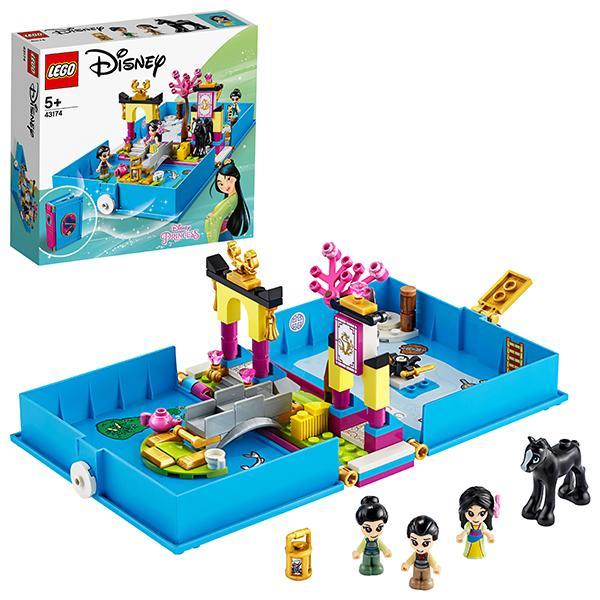 Конструктор LEGO Disney (арт. 43174) «Книга сказочных приключений Мулан»