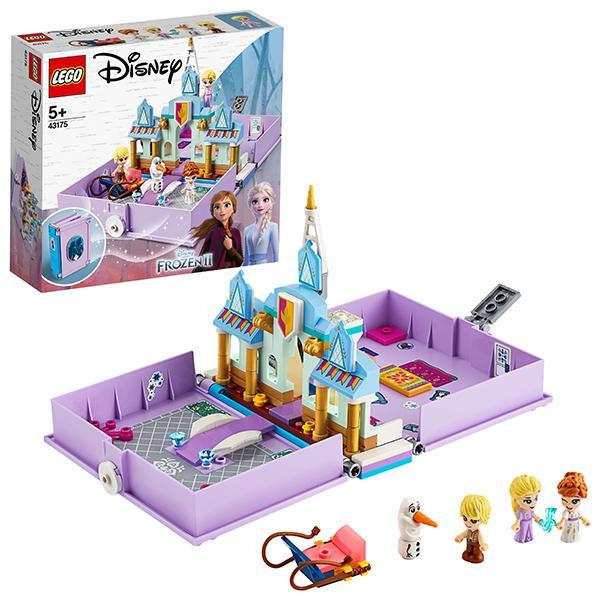 Конструктор LEGO Disney Princess (арт. 43175) «Книга сказочных приключений Анны и Эльзы»