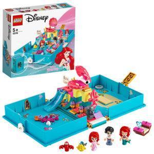 Конструктор LEGO Disney Princess (арт. 43176) «Книга сказочных приключений Ариэль»