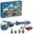 Конструктор LEGO City (арт. 60244) «Полицейский вертолётный транспорт»