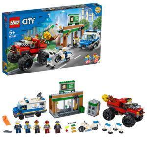 Конструктор LEGO (арт. 60245) «Ограбление полицейского монстр-трака»