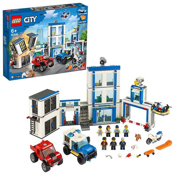 Конструктор LEGO City (арт. 60246) «Полицейский участок»