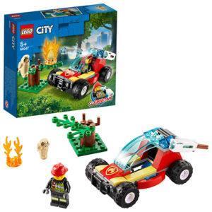 Конструктор LEGO (арт. 60247) «Лесные пожарные»