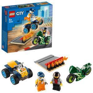Конструктор LEGO City (арт. 60255) «Команда каскадёров»