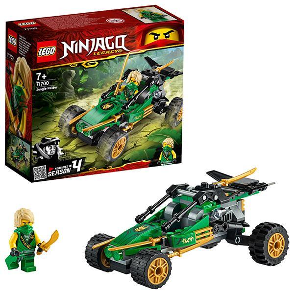 Конструктор LEGO Ninjago (арт. 71700) «Тропический внедорожник»