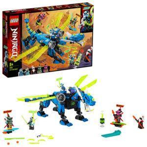 Конструктор LEGO Ninjago (арт. 71711) «Кибердракон Джея»