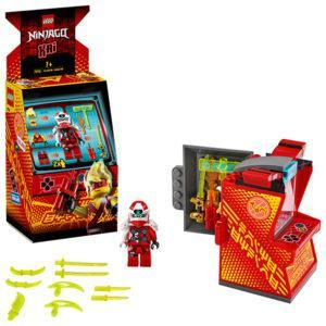 Конструктор LEGO Ninjago (арт. 71714) «Игровая капсула для аватара Кая»