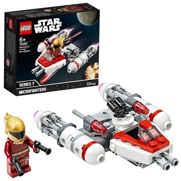 Конструктор LEGO Star Wars (арт. 75263) «Микрофайтеры: Истребитель Сопротивления типа Y»