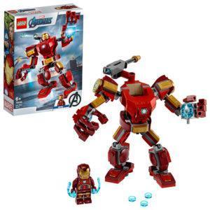 Конструктор LEGO Super Heroes (арт. 76140) «Железный Человек: трансформер»