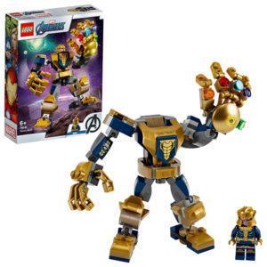 Конструктор LEGO Super Heroes (арт. 76141) «Танос: трансформер»
