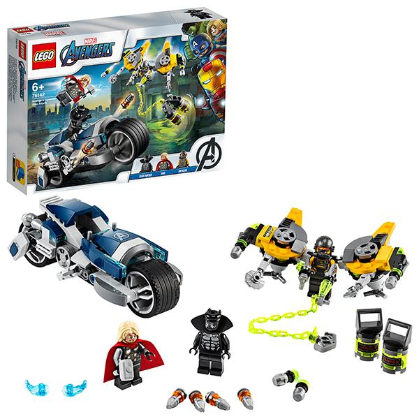 Конструктор LEGO Super Heroes (арт. 76142) «Мстители: Атака на спортбайке»
