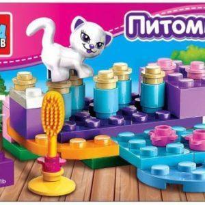 Конструктор Город мастеров «Питомцы: Котёнок» (31 деталь, арт. 2044)