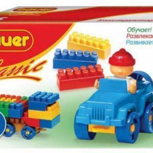 Конструктор блочный Bauer «Classic» (35 элементов, арт. 320)