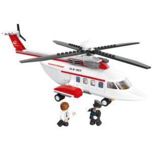 Конструктор SLUBAN Личный вертолет 259 элементов M38-B0363