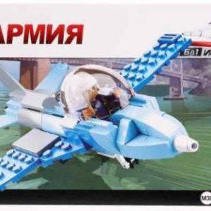 Конструктор Sluban «Военный самолёт» (115 элементов, арт. M38-B0666C)