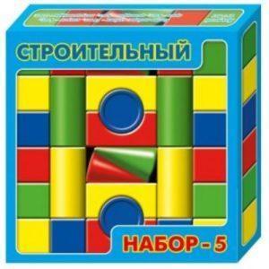 Конструктор Десятое королевство «Строительный набор-5» (30 элементов)