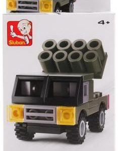 Конструктор Sluban «Военная машина: Град» (44 элемента, арт. M38-B0596B)