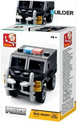 Конструктор SLUBAN Полиция 43 элемента