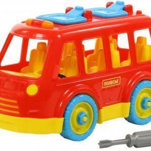 Конструктор-скрутка пласмассовый «Автобус»