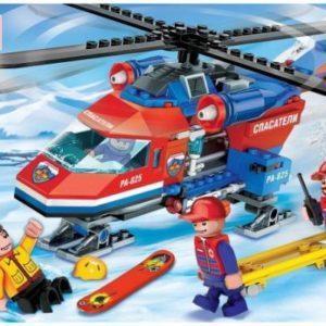 Конструктор Город мастеров «Вертолёт горных спасателей» (190 элементов, арт. 5038)