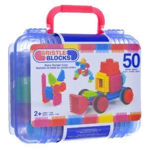Bristle Blocks Конструктор игольчатый 50 деталей, цвет синий