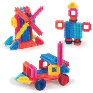 Bristle Blocks Конструктор игольчатый в коробке, 36 деталей