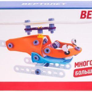 """Fun Red """"Вертолет - 67 деталей"""" - гибкий конструктор"""