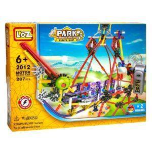 Электромеханический конструктор Loz Park. Серия: Парк развлечений. Качели
