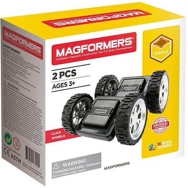 Колёса для конструктора Magformers «Click Wheels»