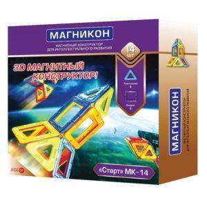 Конструктор 3D-конструктор «МК-14. Старт» (14 деталей)