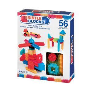 Конструктор Bristle Blocks игольчатый в коробке, 56 деталей
