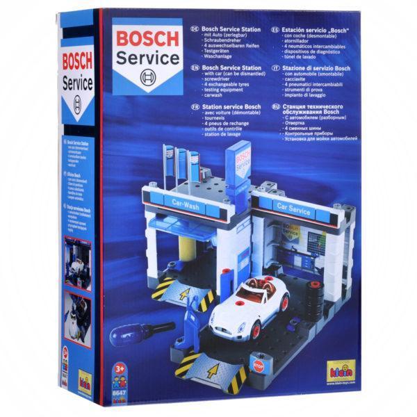 Конструктор Klein «Автосервис Bosch с мойкой и машиной для сборки» (арт. 8647)