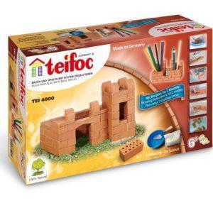 Конструктор TEIFOC TEI 4000 Крепость-карандашница