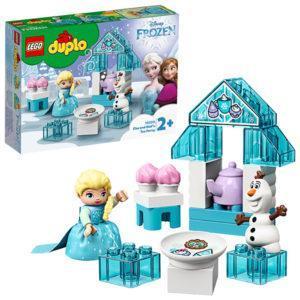Конструктор LEGO (арт. 10920) «Чаепитие у Эльзы и Олафа»
