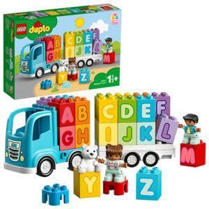 Конструктор LEGO Duplo (арт. 10915) «Грузовик-Алфавит»