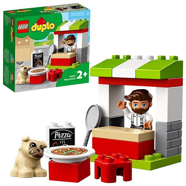 Конструктор LEGO Duplo (арт. 10927) «Киоск-пиццерия»
