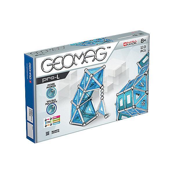 Конструктор магнитный Geomag Pro-L, 110  деталей