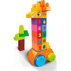 Конструктор Mega Bloks Жираф с цифрами