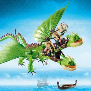 Конструктор Playmobil «Драконы: Забияка и Задирака» (18 деталей, арт. 9458)