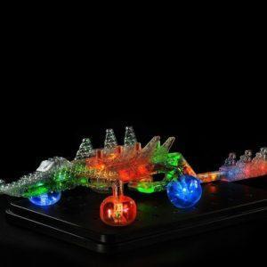 """Конструктор """"Laser Pegs"""" 3D световая панель-Дракон 57 в 1"""