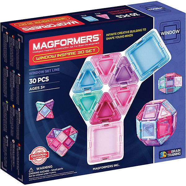 Магнитный конструктор 714004 Window Inspire 30 set, MAGFORMERS