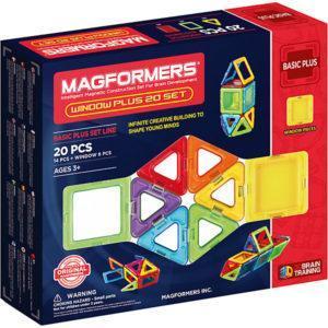 Магнитный конструктор 715001 Window Plus Set 20 set, MAGFORMERS