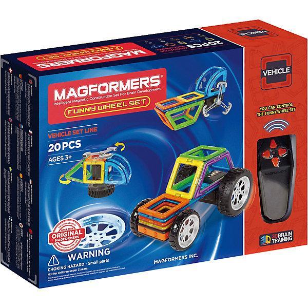 Магнитный конструктор Funny Wheel Set 20, MAGFORMERS