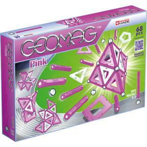 Магнитный конструктор Geomag «Розовые шарики и палочки» (68 деталей)