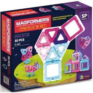 Магнитный конструктор Magformers «30 Pastelle» (30 деталей)